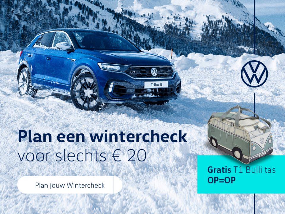 Volkswagen Groningen wintercheck