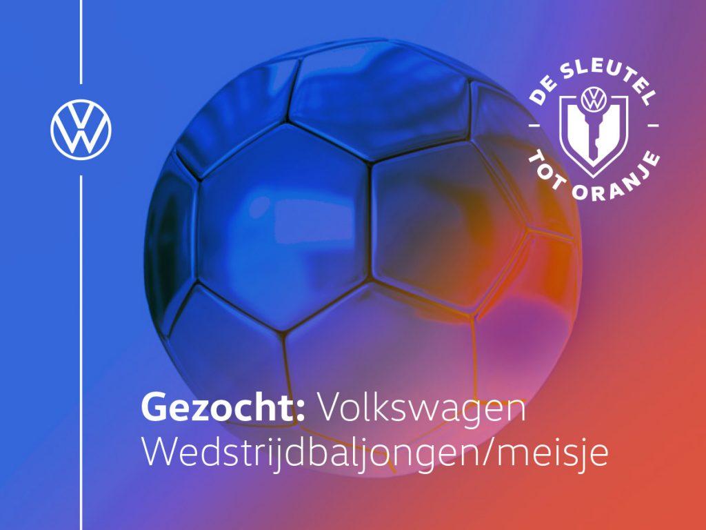 Autoservice Pruijs Volkswagen wedstrijdbal jongen meisje